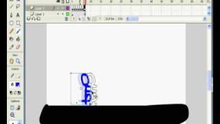 Macromedia flash 8 stickman tutorial
