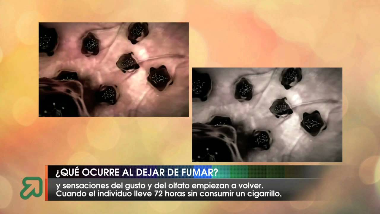 Efectos de dejar de fumar cristal