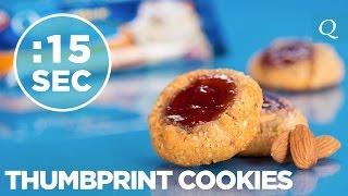 Thumbprint Cookies - #15secondrecipe