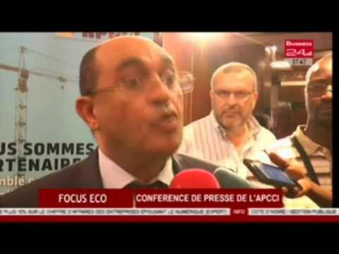 Business 24 / Focus Eco - Conference de presse de l'APCCI