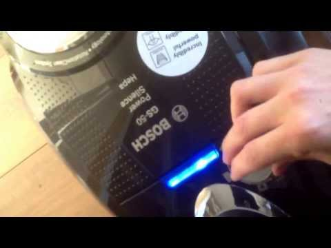Bosch power silence vacuum cleaner review