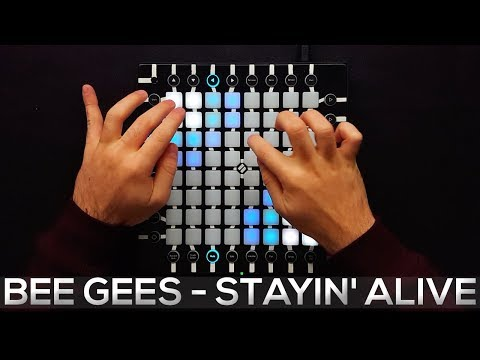 Bee Gees  Stayin A  Launchpad Pro   Remix