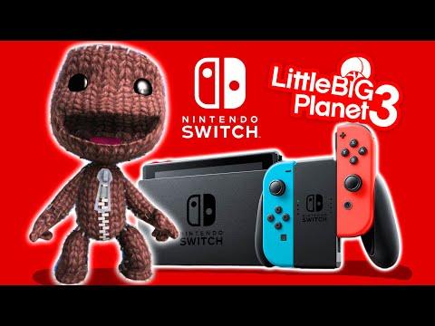 LittleBigPlanet Nintendo Switch Levels With Sackboy – LittleBigPlanet 3 | EpicLBPTime