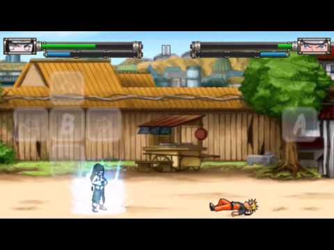 Драки игры Наруто на смартфон Shinobi War