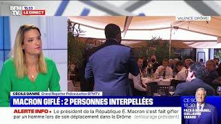 Macron giflé: que risquent les deux personnes interpellées ?
