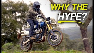 2019 Triumph Scrambler 1200 XE/XC Review - Dirt & Road