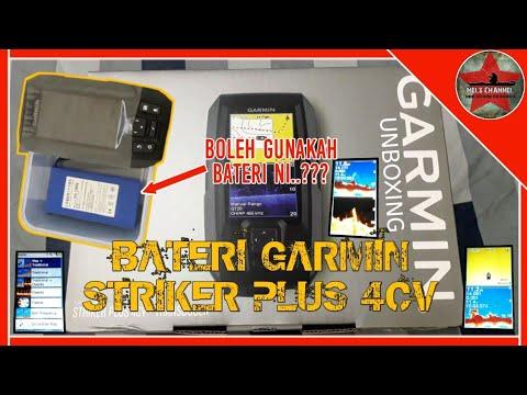 AKU PAKAI BATERI NI ??? UNTUK GARMIN STRIKER PLUS 4CV | FISH FINDER - MELS CHANNEL #23