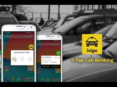 Book Cabs Without Internet Or GPS - ixigo Cabs