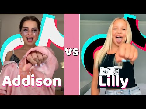 Addison Rae Vs Lilly Ketchman TikTok Dance Mashup (August 2020)