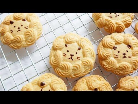 คุกกี้หน้าสิงโต Lion Cookies