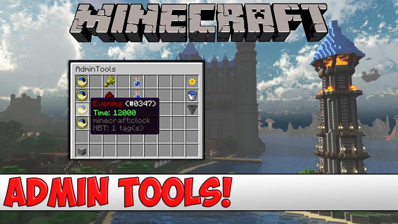 Minecraft Plugin Tutorial  Admin Tools  Youtube