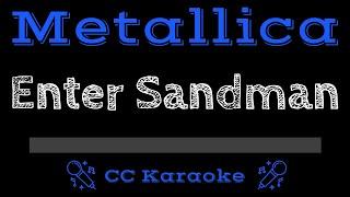 Metallica • Enter Sandman (CC) [Karaoke Instrumental Lyrics]