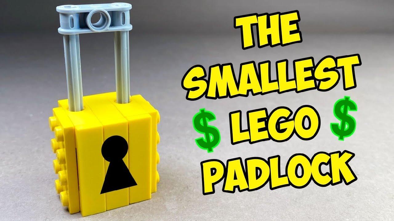 How to make a Lego Padlock - Easy Lego Tutorial