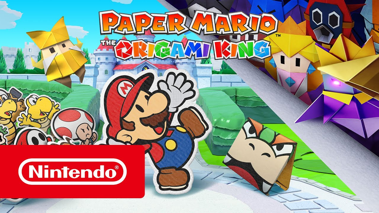 Paper Mario: The Origami King is coming to the Switch in July