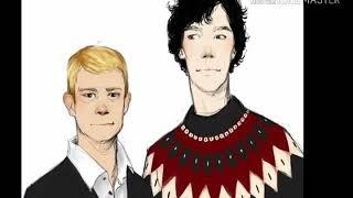 Яой Шерлок и Ватсон