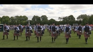 Shotts & Dykehead in Belfast: 2015 UK Pipe Band Championships