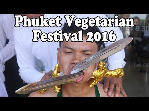 Phuket Vegetarian Festival Food. Food in Thailand