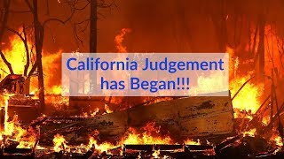 God's Judgement on California has began