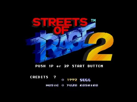Streets of Rage 2 | Pc Classic Gameplay | Stage 1