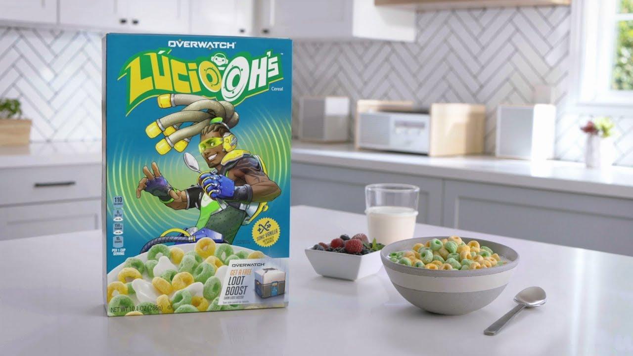 Лусио из Overwatch стал лицом сухих завтраков и выпустил музыкальный альбом