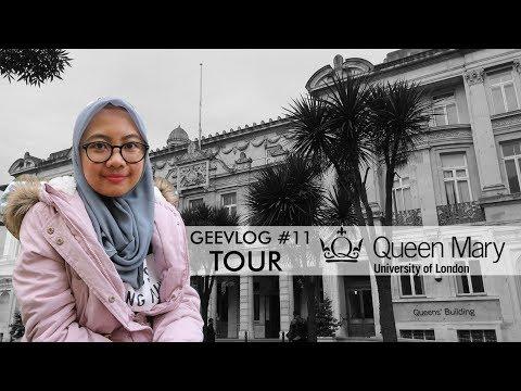 GEEVLOG #11 - QMUL Campus Tour