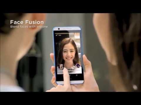 HTC Desire EYE: Face Fusion