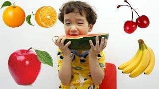 Johny Johny Sí Papá Canciones Infantiles, Johny Johny Fruit version Spanish by Rua And Voi