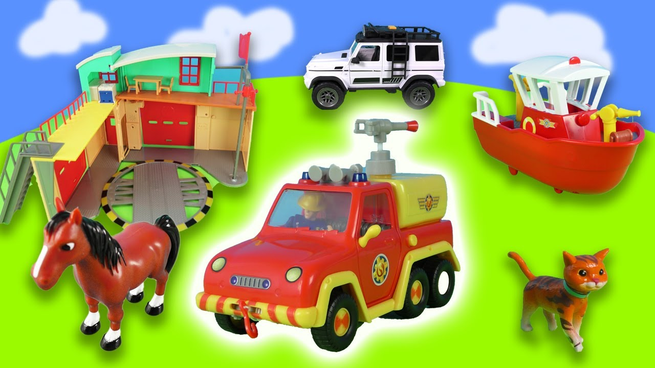 Fireman Sam: Animal rescue and Water missions