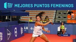 Los 3 Mejores Puntos Femeninos del Estrella Damm Valencia Open 2019 | World Padel Tour