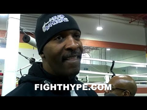 BARRY HUNTER DISCUSSES PETERSON'S GAME PLAN FOR ERROL SPENCE; EXPLAINS WHY MENTAL PREP IS KEY