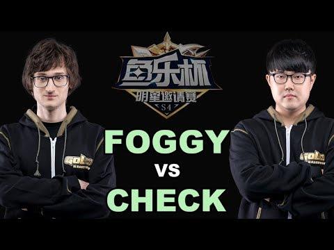 WC3 - Yule Cup #4 - LB SF: [NE] Foggy vs. Check [NE] (Group C)