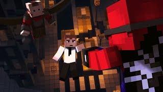 """Minecraft Сериал: """"ЧЕЛОВЕК-ПАУК"""" - 3 серия - Выживает сильнейший"""