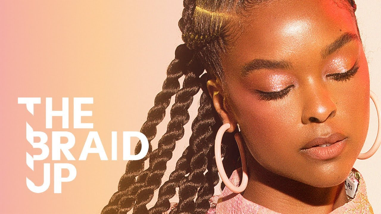 Download Stitch Braids with Senegalese Twists | The Braid Up | Cosmopolitan
