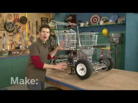 Shopping Kart Chair in HD!