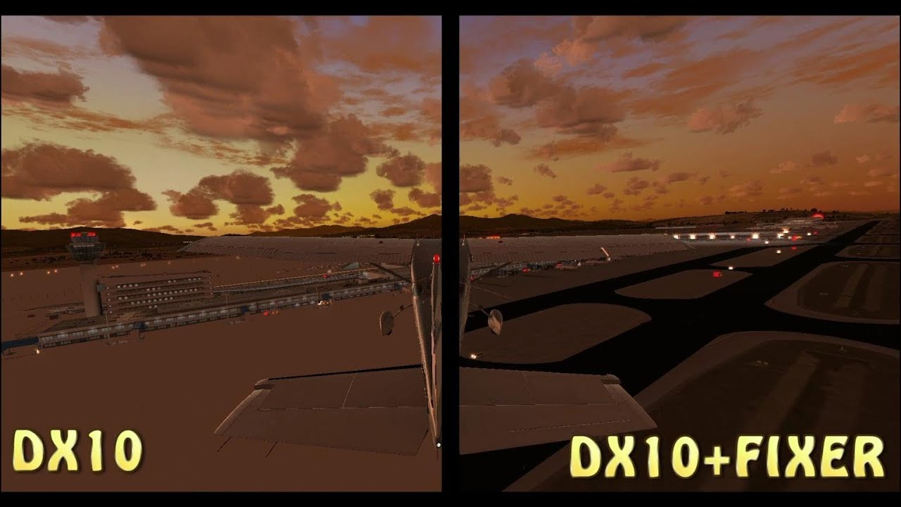 dx10 scenery fixer gratuit