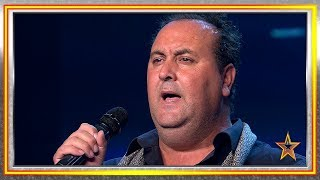 Se dedica a vender FRUTA, pero tiene un TALENTO OCULTO | Audiciones 9 | Got Talent España 2019