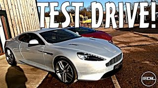 ASTON MARTIN VIRAGE TEST DRIVE: EPIC CAR!!