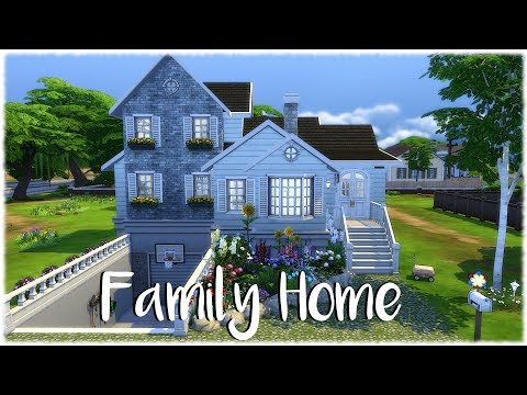 The Sims 4: Speed Build// FAMILY HOME NO CC from YouTube · Duration:  16 minutes 53 seconds