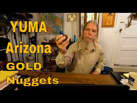 Yuma Arizona, Gold Nuggets, And Bicycles In The Desert