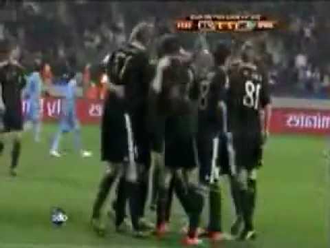 Sami Khedira goal against Uruguay world cup 2010 (Uruguay vs Germany)