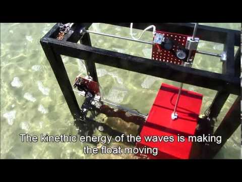 The WavePower Mini Model