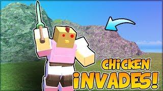 CHICKEN INVADES BOOGA *PvP* | Roblox