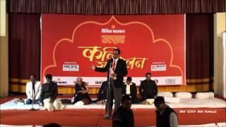 Rajasthani Hasya Kavi Sampat Saral with Dr.Kumar Vishwas