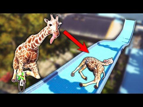 I'M A BMX-ING GIRAFFE?! (Goat Simulator)  