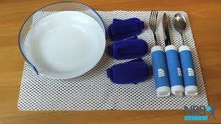 Easy To Grip Dinner Service Set With Plate & Cutlery Review