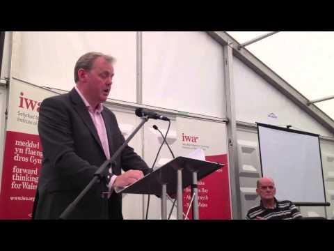 Darlith yr Eisteddfod IWA rhan 1 / IWA Eisteddfod lecture part 1: Guto Bebb