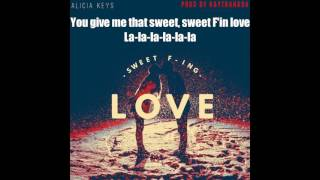 Alicia Keys - Sweet Fin Love image