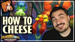 HOW TO CHEESE YOURSELF INTO FIRST PLACE! - Hearthstone Battlegrounds
