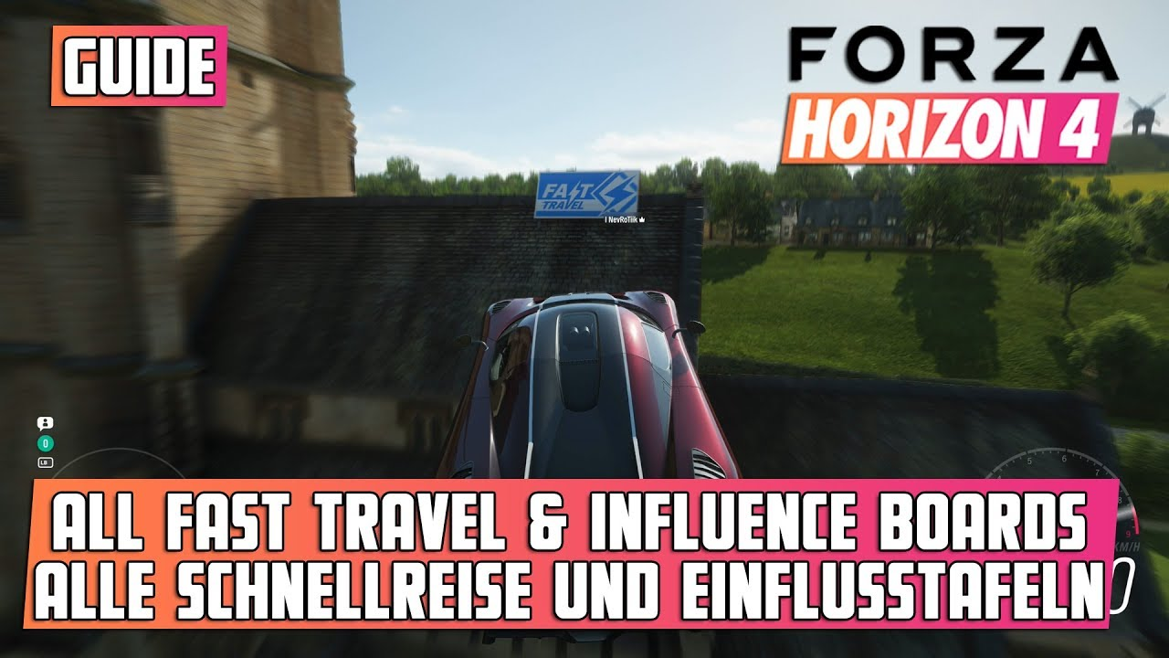 How To Fast Travel For Free In Forza Horizon 4 Scrap Books