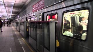 Taipei Metro C381 (1506F) 505-506 (Departing Chiang Kai-shek Memorial Hall)